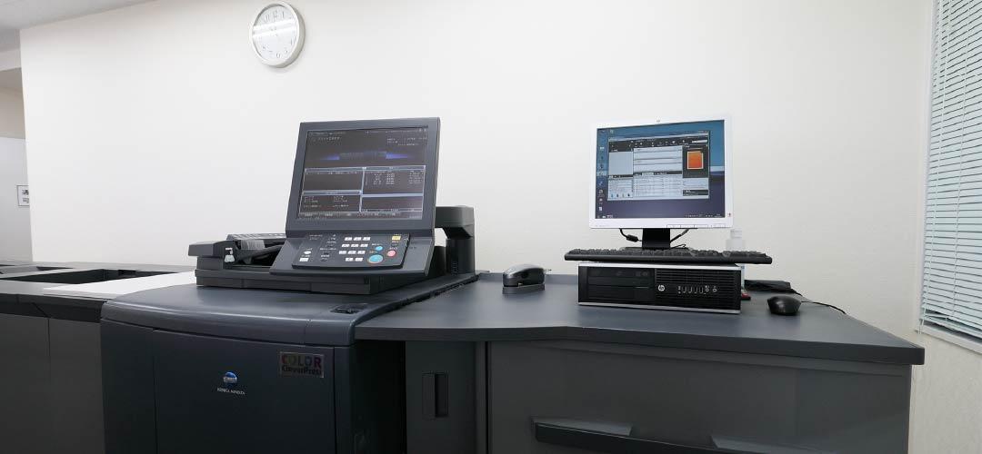 デジタルオンデマンドプリント機器